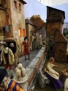 Presepe AIAP (Roma '800) allestito presso l'Oratorio di s. Pietro Martire