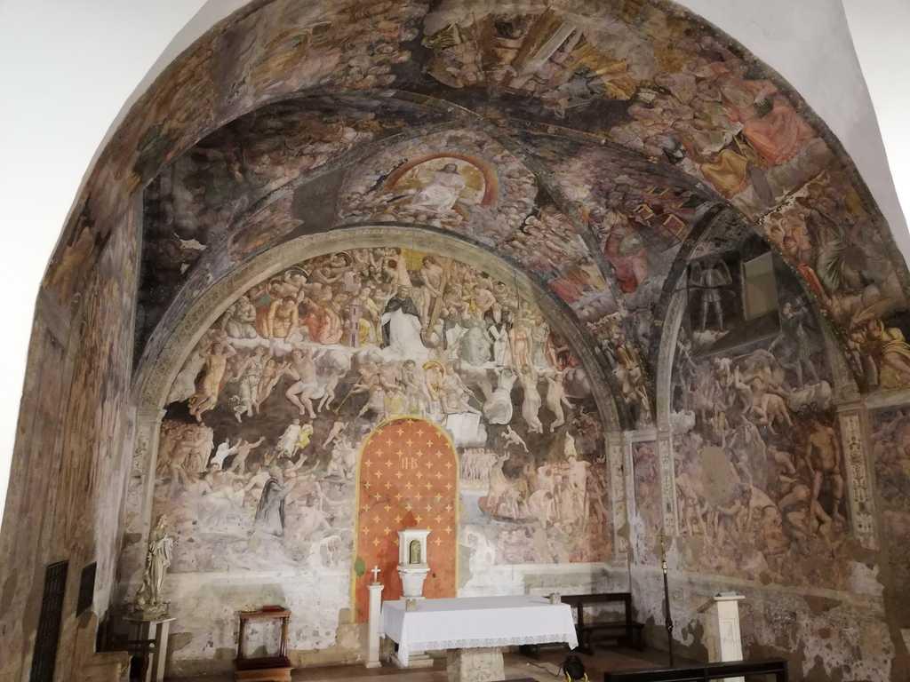 Volta dell'Oratorio San Pietro Martire di Rieti