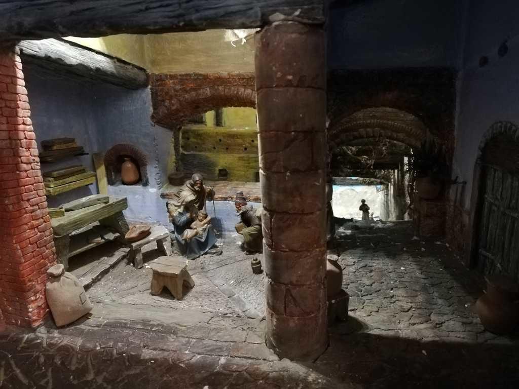 "Diorami e presepi esposti a Sarteano ""Il Paese dei Presepi"""