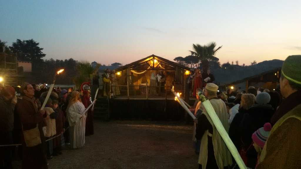Il presepio vivente Missionario di Villaregia