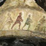 Adorazione dei Magi nelle Catacombe di Priscilla a Roma