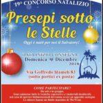 A Bordighera, XIX Mostra Concorso di Presepi a Borghetto San Nicolò