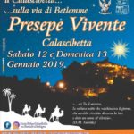 Locandina - Presepe vivente a Calascibetta