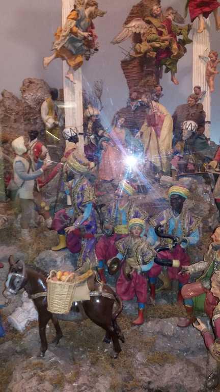una delle opere esposte Museo presepio Roma - angelo stefanucci