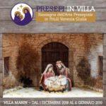 """Record di affluenze per """"Presepi a Villa Manin"""""""