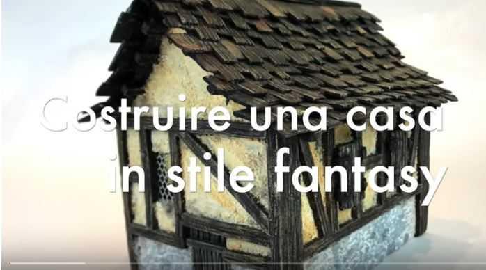 video tutorial casa stile fantasy