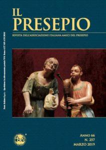 """Copertina Rivista """"Il Presepio"""" N. 257 - marzo 2019"""