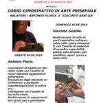 2019-05 |04 – 05 Maggio| Corso di arte presepiale a Novedrate