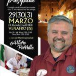Inizia tra una settimana il corso di Arturo Parrillo a Venafro