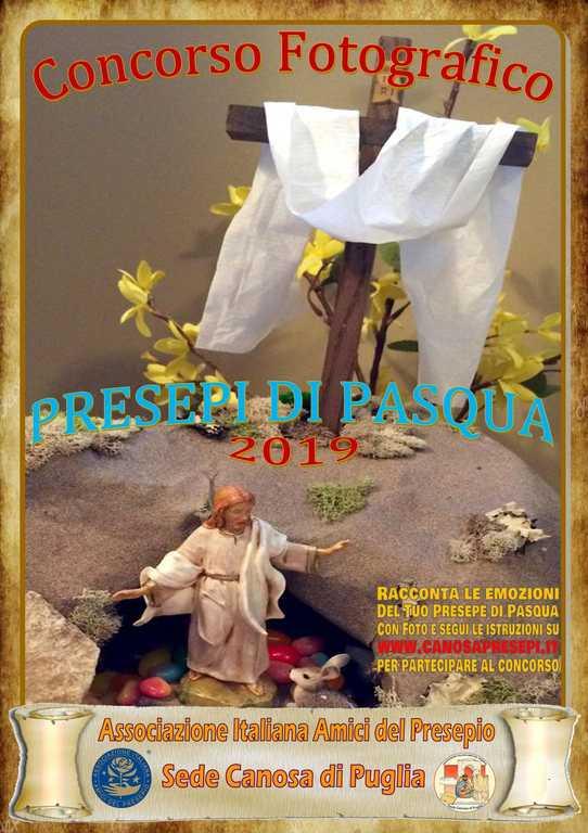 Canosa - Concorso Fotografico Presepi di Pasqua 2019