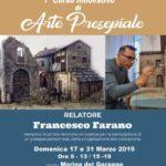 2019-03  17 e 31 marzo  Corso di arte presepiale a Manfredonia