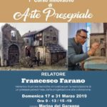Corso arte presepiale - francesco farano - sede aiap manfredonia 2019