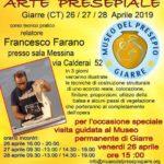 2019-04 |26/27/28 Aprile| Corso di Arte Presepiale a Giarre