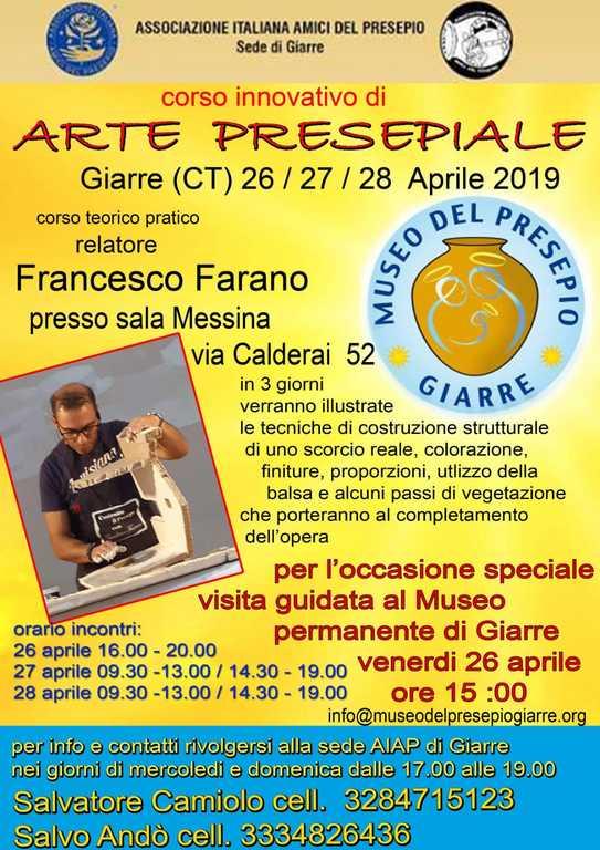 Corso sede AIAP Giarre 2019 - Francecso Farano
