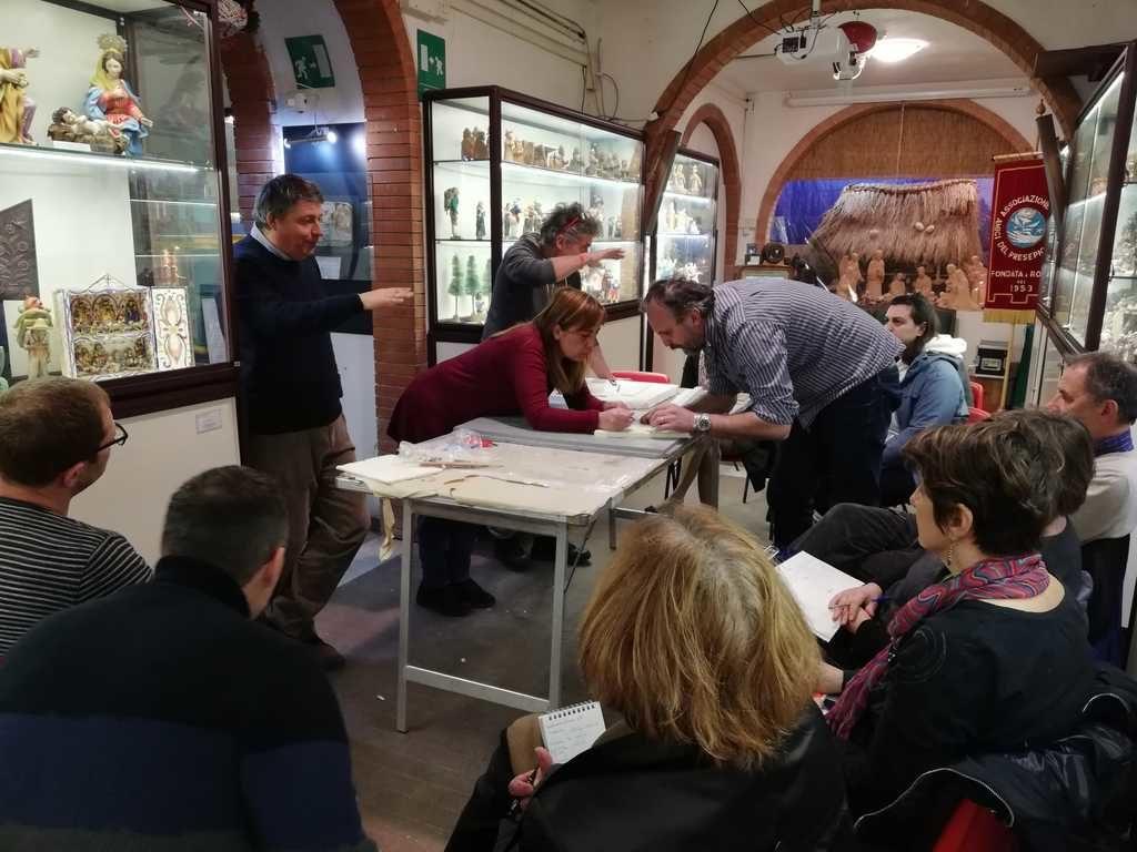 Corso tecnica presepistica - Roma 16-03-2019