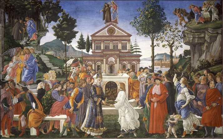 Prove di Cristo - Dipinto di Sandro Botticelli