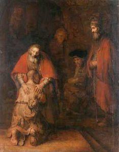 Ritorno del figliol prodigo - Dipinto di Rembrandt