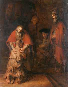 Ritorno del figliol prodigo - Rembrandt
