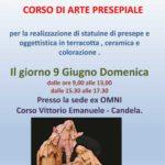 2019-06 |9 Giugno| Corso di oggettistica in terracotta, a Candela