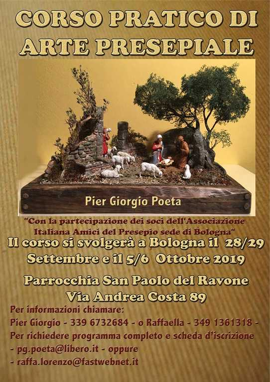 corso arte presepiale 2019 - aiap bologna