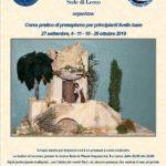 2019-09 |27 Settembre e 4/11/18/25 Ottobre| Corso a Lecco