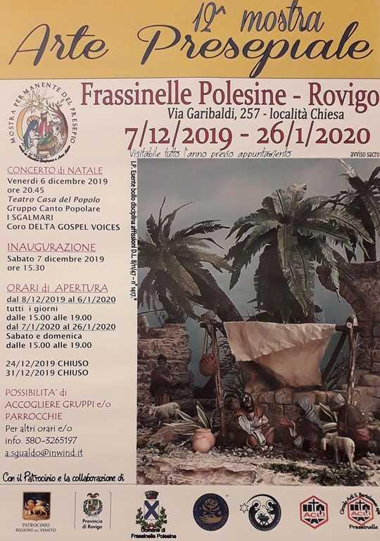 Locandina Sede frassinelle poleseine - mostra 2019