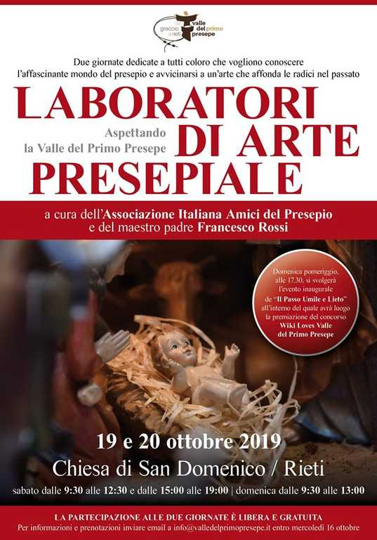 laboratori di arte persepiale a Rieti