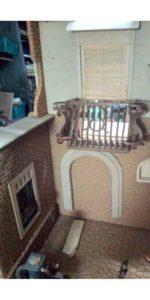 balcone miniatura malacario