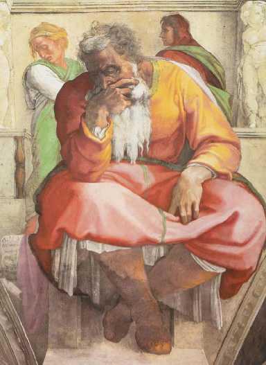 Michelangelo Buonarroti - San Geremia - cappella sistina