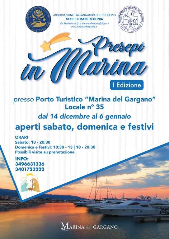 Presepi in Marina_Tavola - mostra sede aiap manfredonia 2019