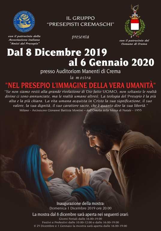 Volantino presepi - crema 2019