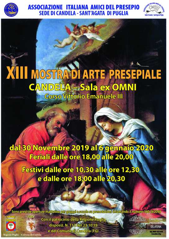 XIII Mostra 2019 sede aiap di Candela