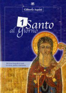 copertina libro un santo al giorno - gilberto aquini