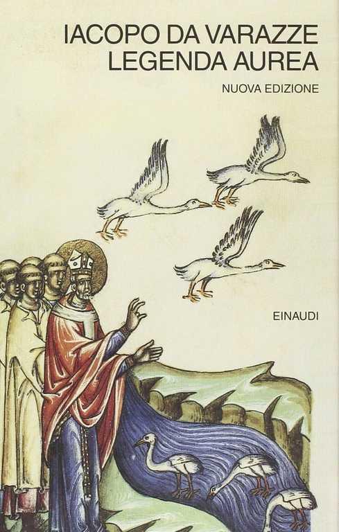 Legenda Aurea - Jacopo da varazze - copertina a
