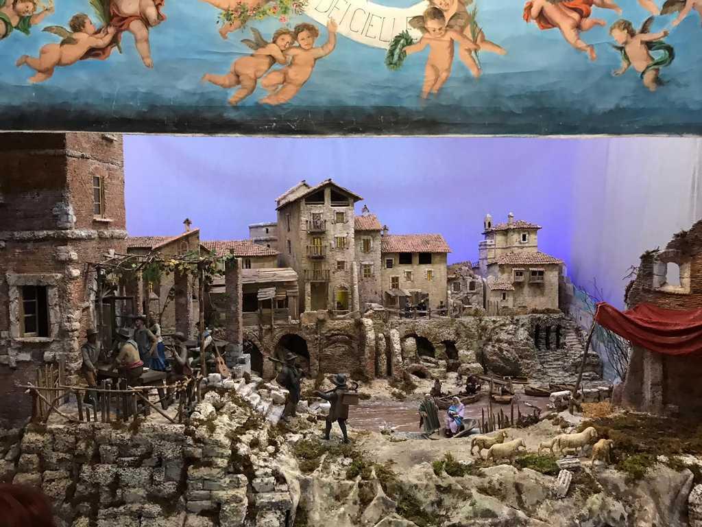 aiap roma - presepio 2019 - santa maria in via