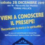 """A Torre Pellicce, """"Vieni a conoscere il Presepe!"""""""