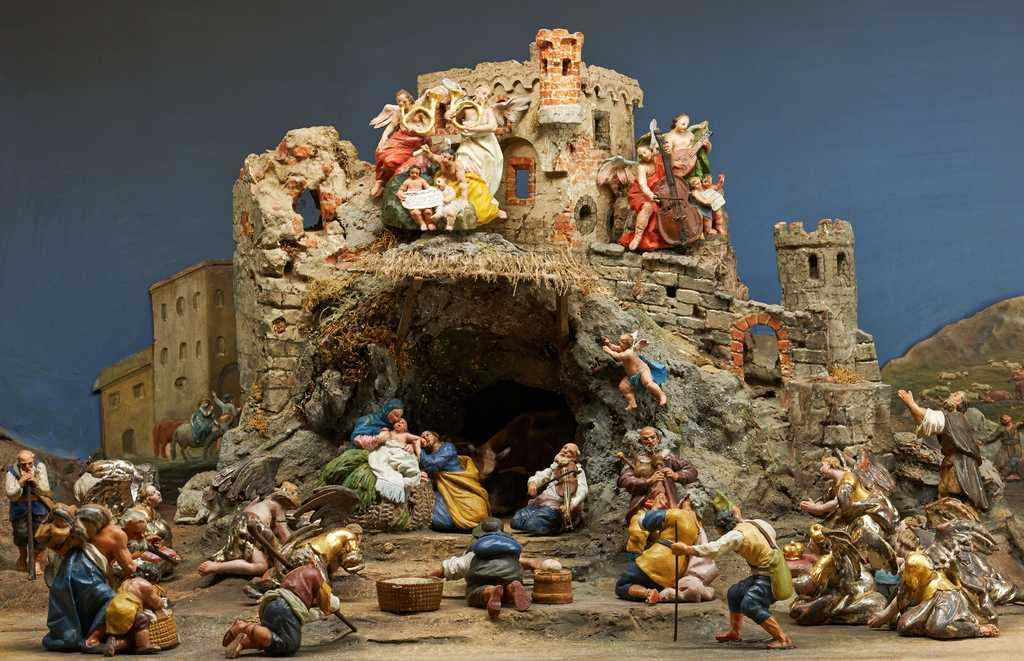Adorazione dei pastori, Franz Xaver Nissl - museo hofburg bressanone