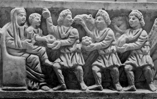 Sarcofago Epifania Museo Nazionale Romano
