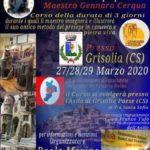 Corso di Gennaro Cerqua a Grisolia (CS)