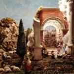 particolare del presepe allestito nella parrocchia sacro  Cuore 2019 - nettuno - angelo fracassi