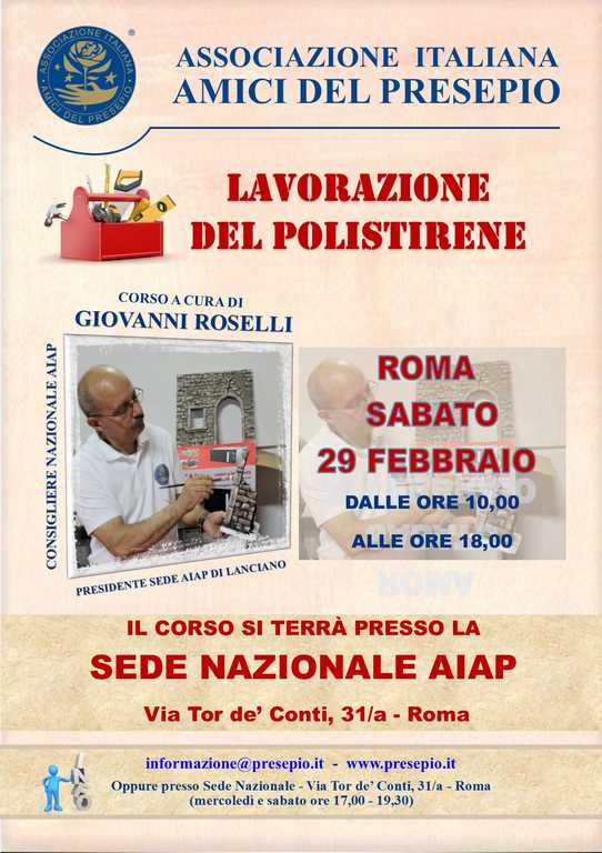 manifesto roma giovanni roselli