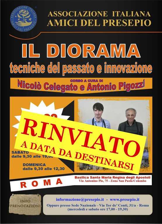 locandina rinvio - pigozzi celegato corso roma