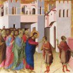 Guarigione cieco Gesù – Duccio di Buoninsegna