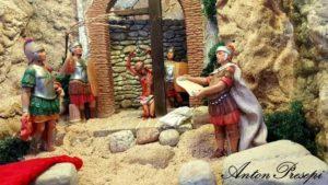 ANtonPresepi - diorama la flagellazione