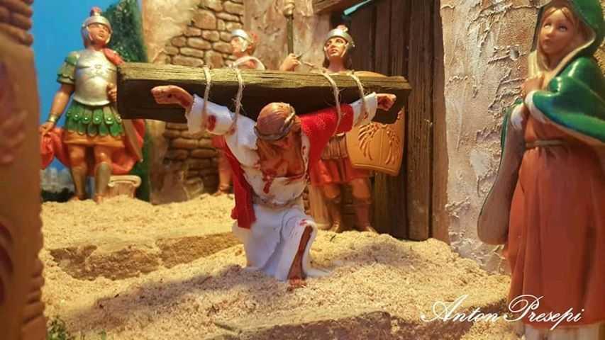 ANtonPresepi - diorama la via crucis