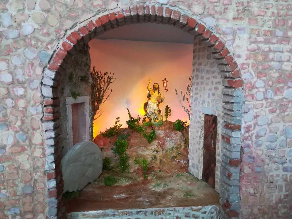 Diorama pasquale di Savino Freda - Candela (FG)