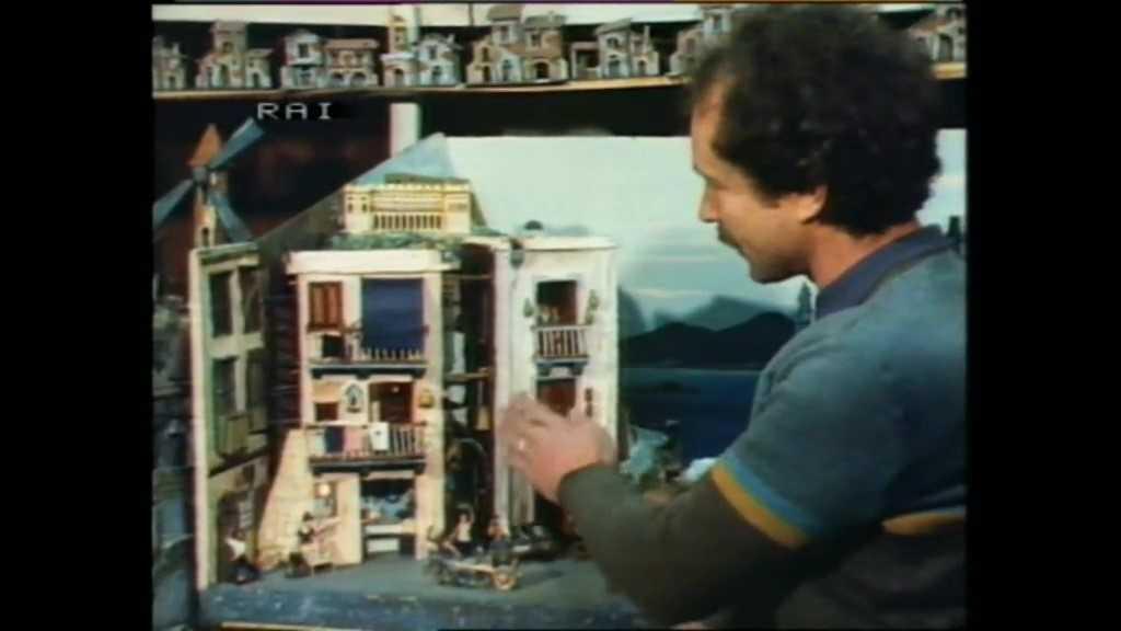 Natale Napoletano 1983 - video teche rai - ugo gregoretti - san gregorio armeno