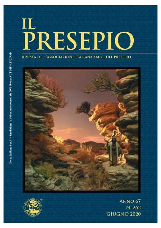 Copertina rivista - IL PRESEPIO 262 - giugno 2020