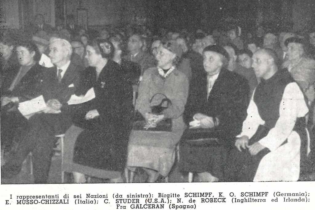 Congresso Internazionale - Roma 1954