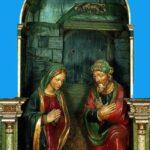 Presepi storici: L'ancona lignea